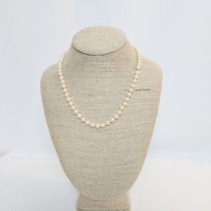 Monet Classic Vintage Single Strand Pearls